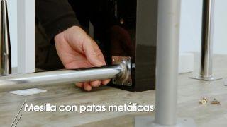 Cómo hacer una mesilla con patas metálicas - Paso 1