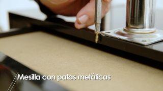 Cómo hacer una mesilla con patas metálicas - Paso 2
