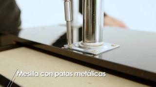 Cómo hacer una mesilla con patas metálicas - Paso 3