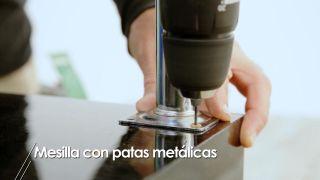 Cómo hacer una mesilla con patas metálicas - Paso 4