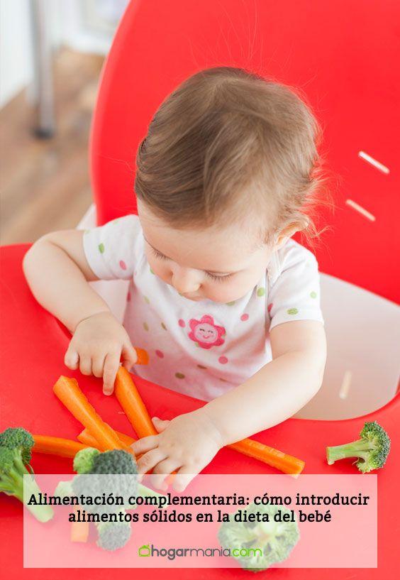 Alimentación complementaria: cómo introducir alimentos sólidos en la dieta del bebé