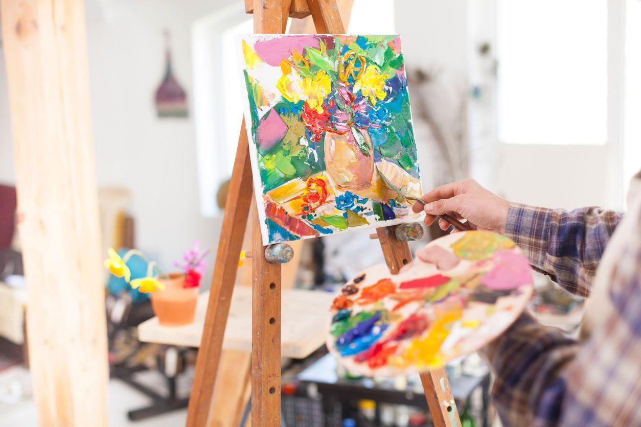 Beneficios de pintar y dibujar.