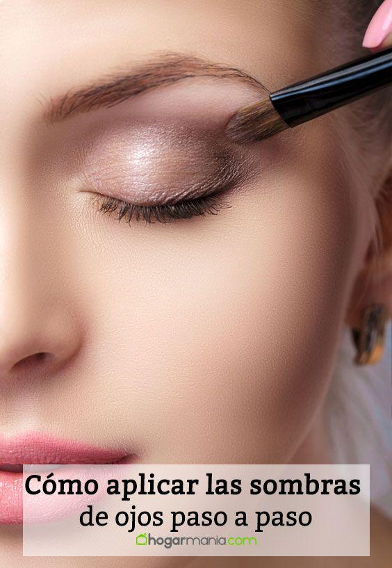 Cómo aplicar las sombras de ojos paso a paso