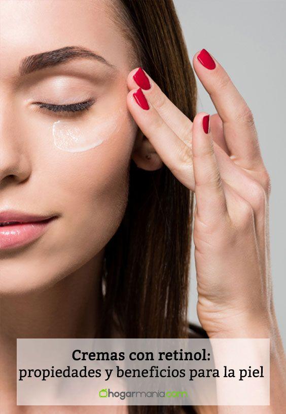 Cremas con retinol: propiedades y beneficios para la piel