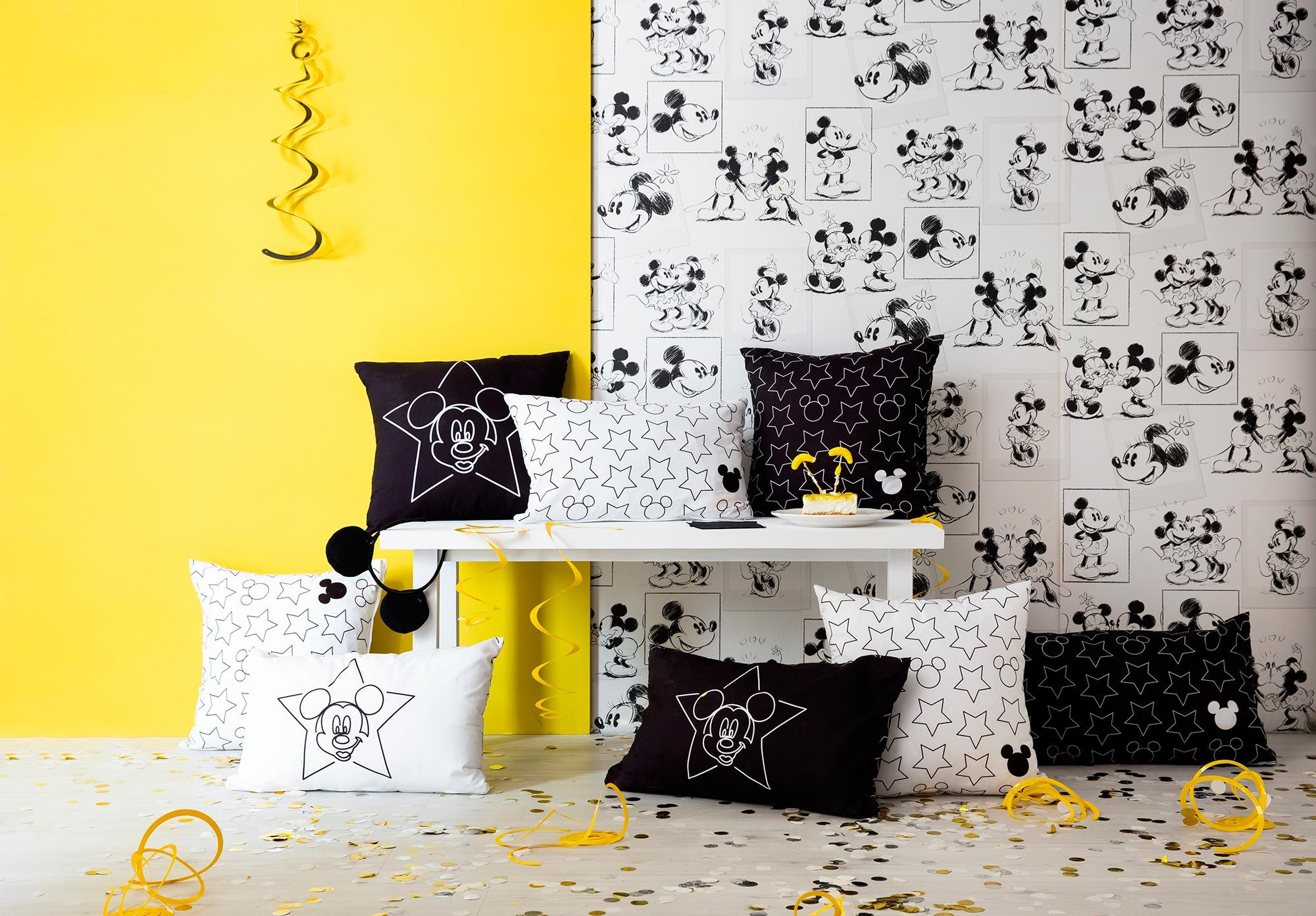 Decoración Mickey Mouse serie limitada Leroy Merlin