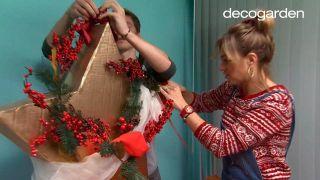 Hacer estrellas de Navidad de cartón - paso 9