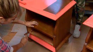 Decorar dormitorio juvenil industrial con muebles reciclados - paso 5
