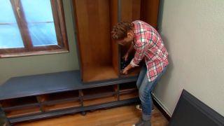Decorar dormitorio juvenil industrial con muebles reciclados - paso 6