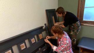 Decorar dormitorio juvenil industrial con muebles reciclados - paso 9