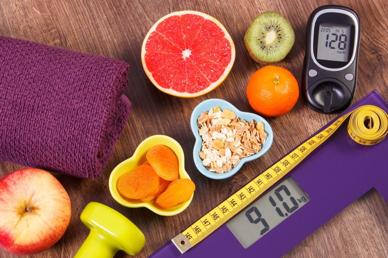 Una dieta saludable rica en fibra y agua ayuda a manterse en el peso ideal, y controlar la diabetes.
