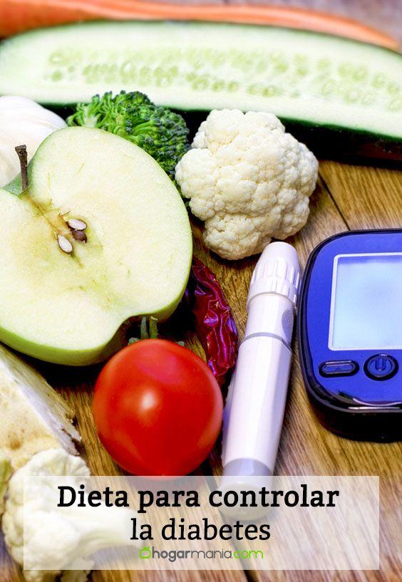 Dieta para controlar la diabetes