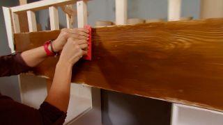 Pintar efecto madera con vetas - paso 4