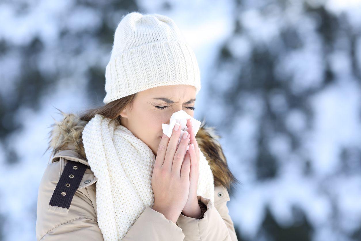 Con la bajada de temperaturas aumenta el riesgo de resfriados y de virus como la gripe.