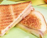 Sánwich mixto de jamón y queso