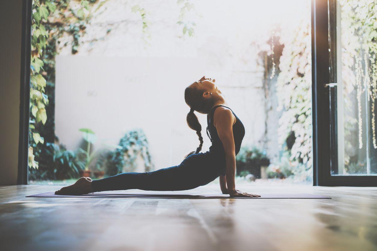 Actividades como el yoga te ayudarán a relajarte y mantenerte en forma.