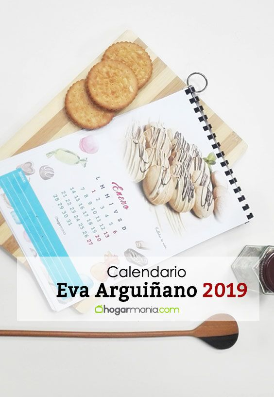 Calendario Eva Arguiñano 2019