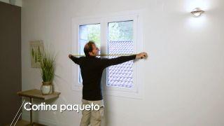Cómo instalar una cortina paqueto - Paso 1