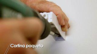 Cómo instalar una cortina paqueto - Paso 4