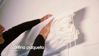 Cómo instalar una cortina paqueto - Paso 5