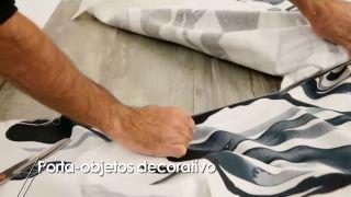 Cómo hacer un porta-objetos decorativo - Paso 6