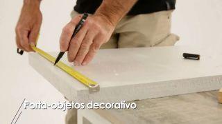 Cómo hacer un porta-objetos decorativo - Paso 2
