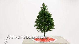 Base de árbol navideño - Paso 2