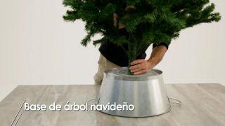 Base de árbol navideño - Paso 6