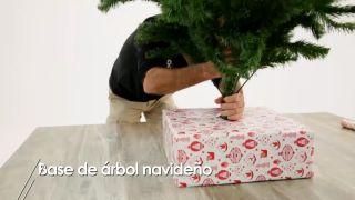 Base de árbol navideño - Paso 8