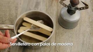 Cómo hacer servilleteros con palos de madera - Paso 3