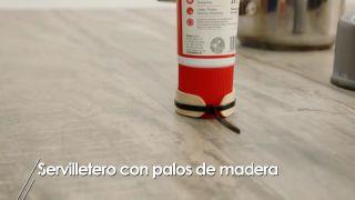 Cómo hacer servilleteros con palos de madera - Paso 4