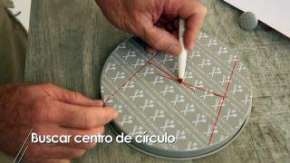 Cómo buscar el centro de un círculo - Paso 3