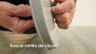 Cómo buscar el centro de un círculo - Paso 5