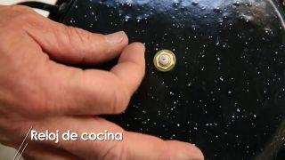 Reloj de cocina - Paso 4