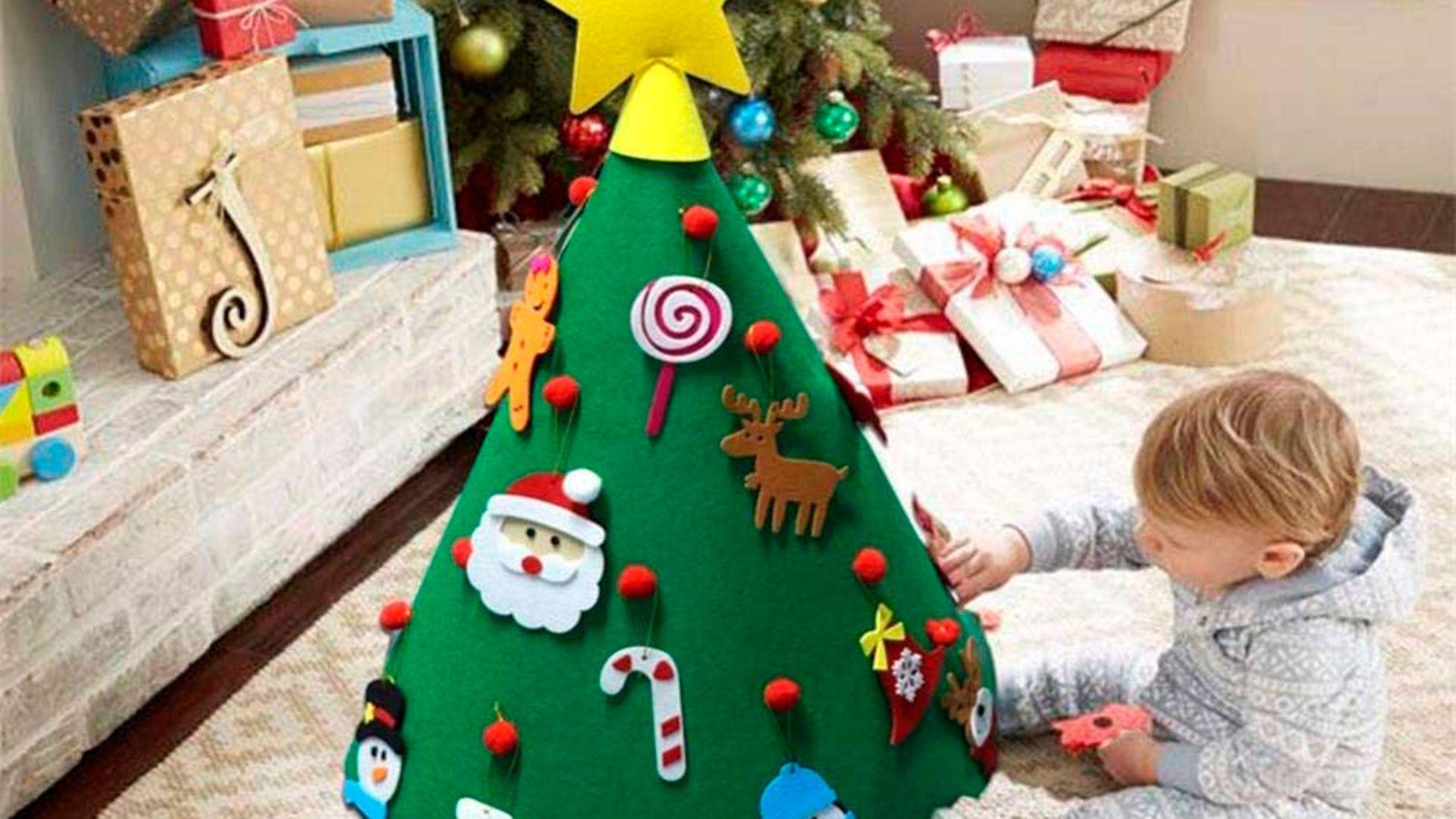 Árbol de Navidad educativo para niños.