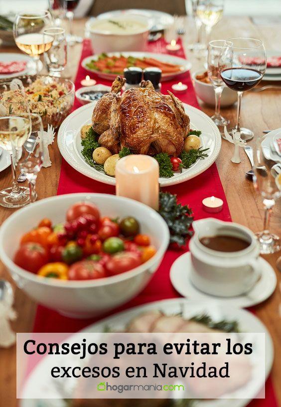 Consejos para evitar los excesos en Navidad