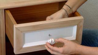 Decorar dormitorio luminoso y romántico con muebles reciclados - paso 7