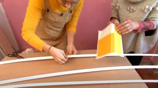 Decorar dormitorio juvenil con estudio rosa - paso 2