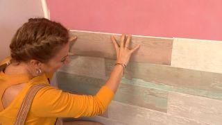 Decorar dormitorio juvenil con estudio rosa - paso 6