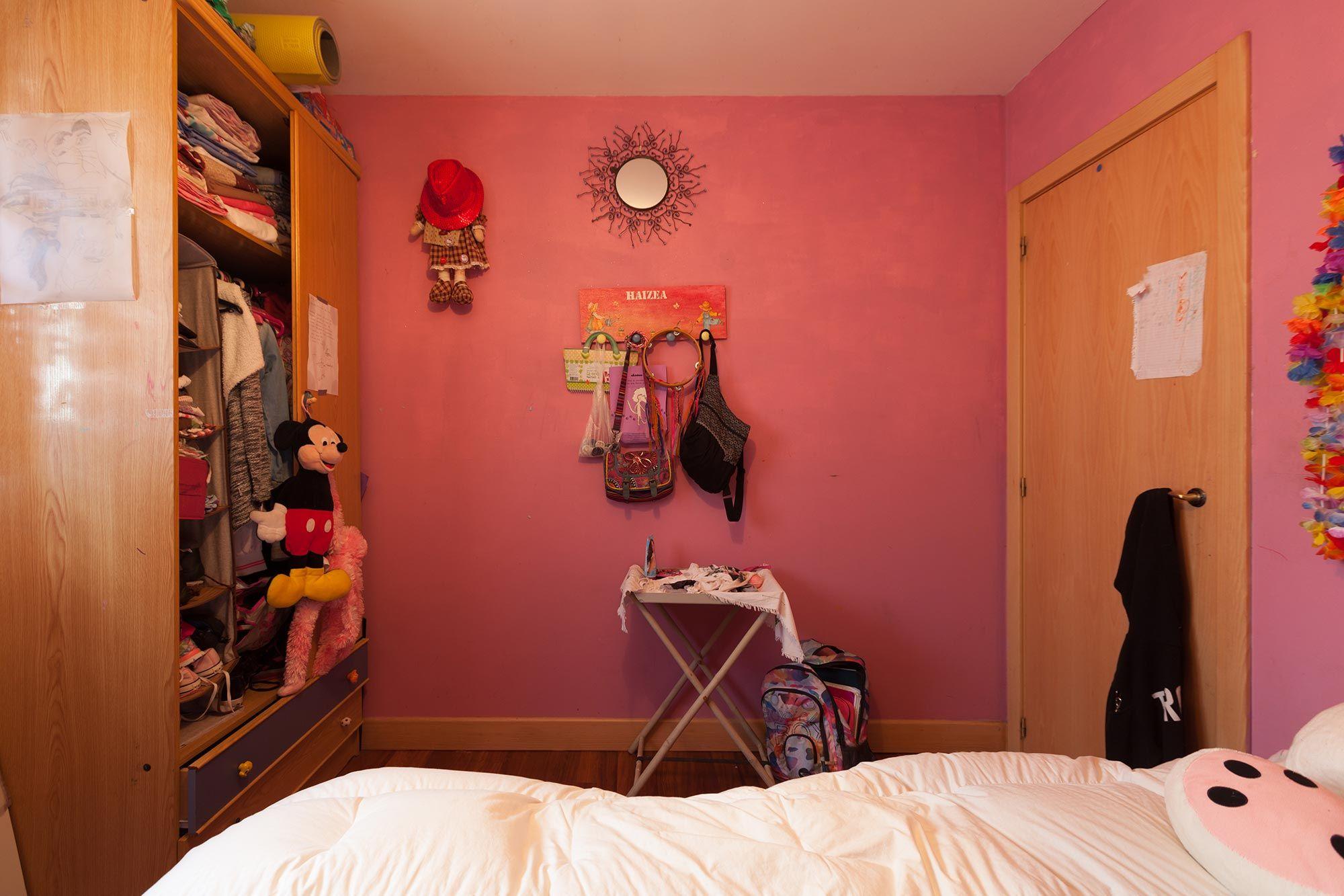 Programa de Decogarden del 29 diciembre de 2018 - dormitorio juvenil rosa antes