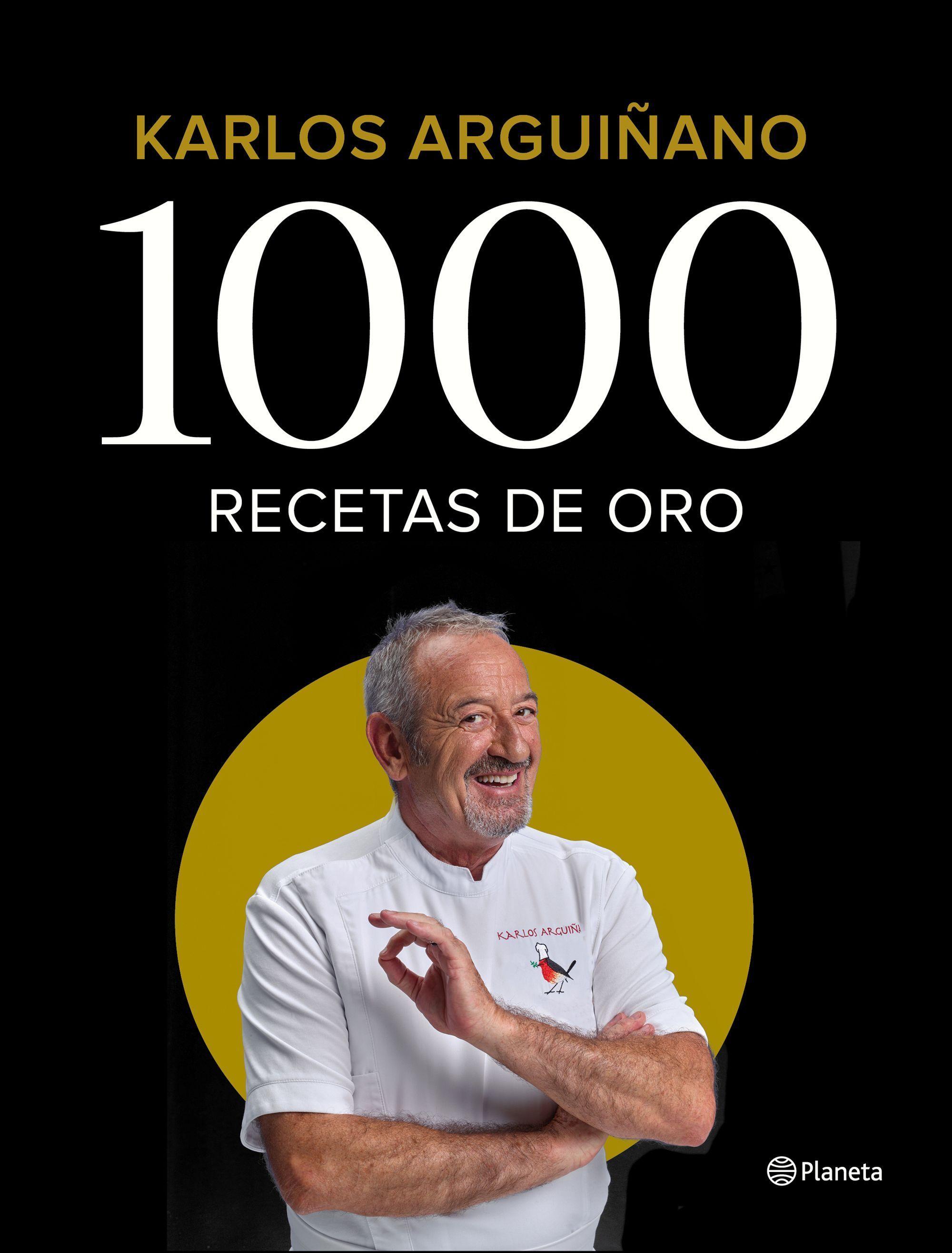 Sorteo del libro 1000 Recetas de oro de Karlos Arguiñano
