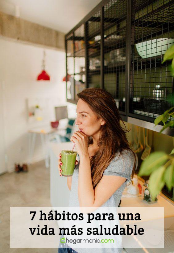 7 hábitos para una vida más saludable