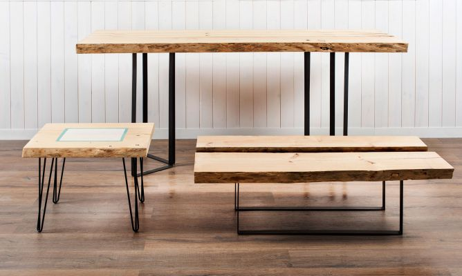 7 ideas para construir muebles de madera maciza hogarmania for Idea de muebles quedarse