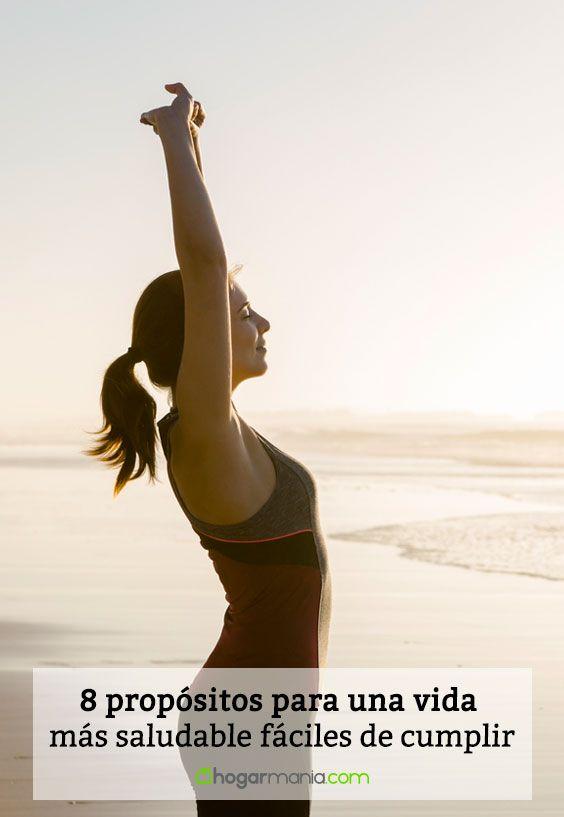 8 propósitos para una vida más saludable fáciles de cumplir