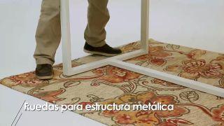 Cómo colocar ruedas a una estructura metálica - Paso 1