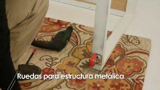 Cómo colocar ruedas a una estructura metálica - Paso 6