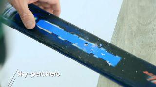 Cómo hacer un esquí-perchero - Paso 4