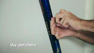 Cómo hacer un esquí-perchero - Paso 6