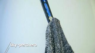 Cómo hacer un esquí-perchero - Paso 8