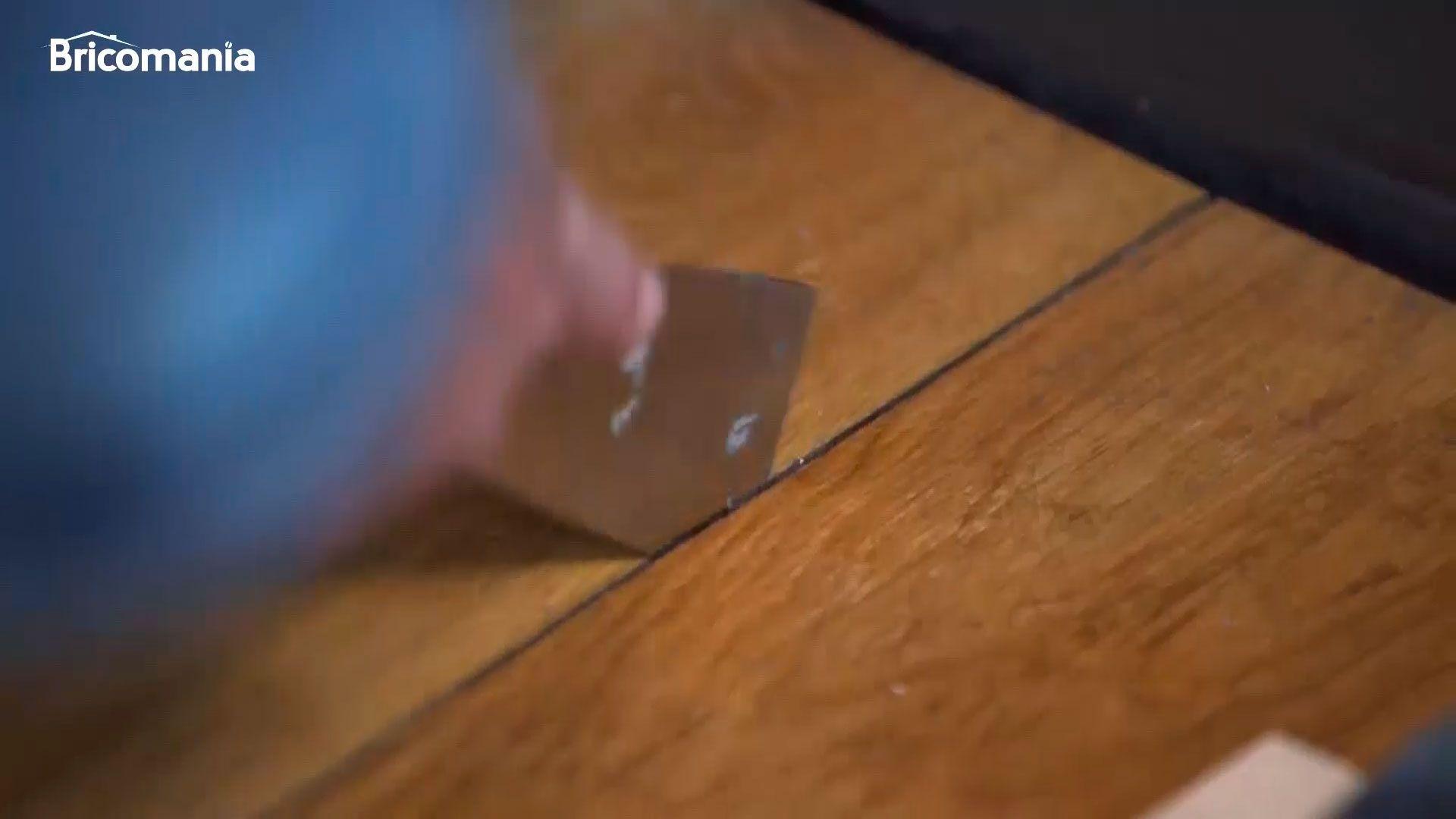 Cómo reducir las llagas en suelos de madera