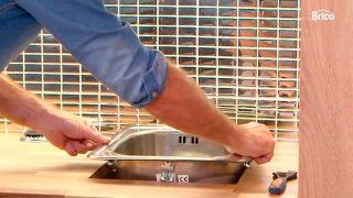 Instalar encimera de cocina de madera